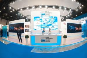 Коллективный стенд Ассоциации на Петербургском международном газовом форуме (октябрь, 2014 год)