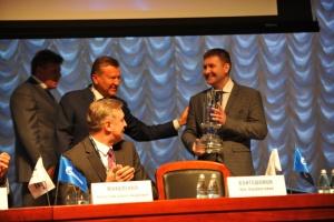 Церемония награждения лауреатов премии «Новация» по итогам 2015 года (сентябрь, 2015 год)