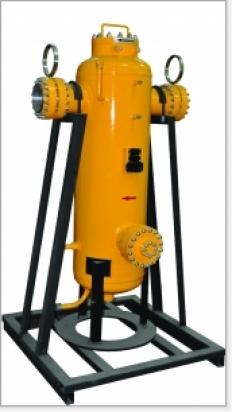 Фильтр-сепаратор газовый ФГС-ПР Ду 250 Ру 40